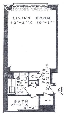 Unit 5C at 240 East 46th Street, New York, NY 10017