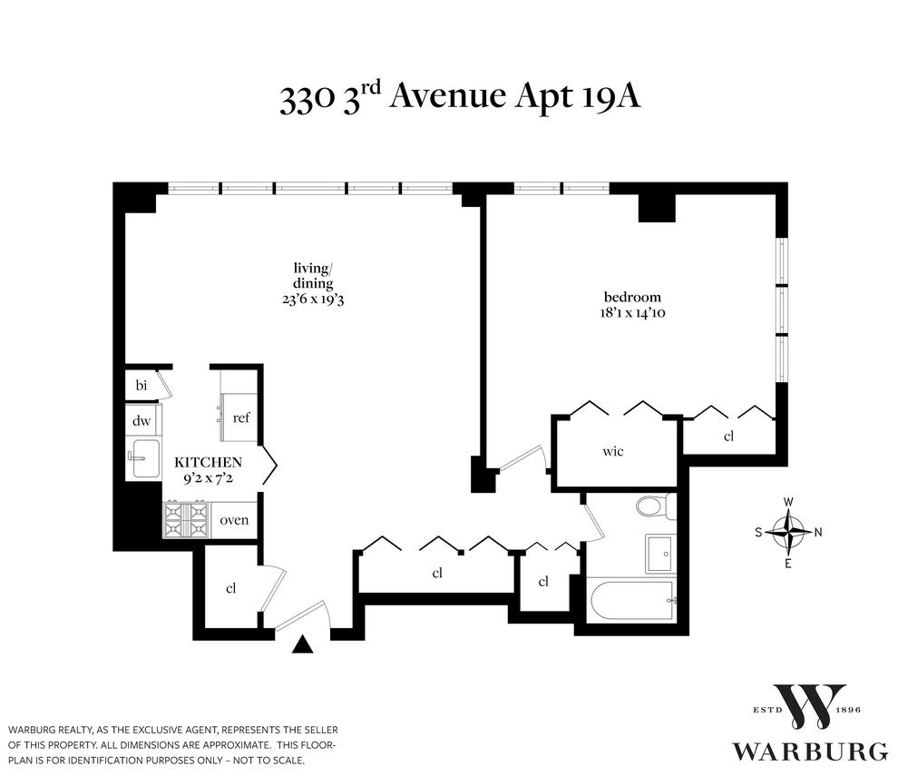 Unit 19A at 330 3rd Avenue, New York, NY 10010