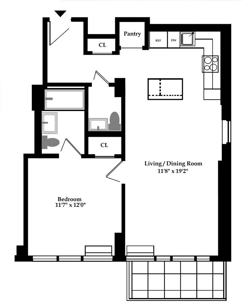 Unit 7D at 148 East 24th Street, New York, NY 10010