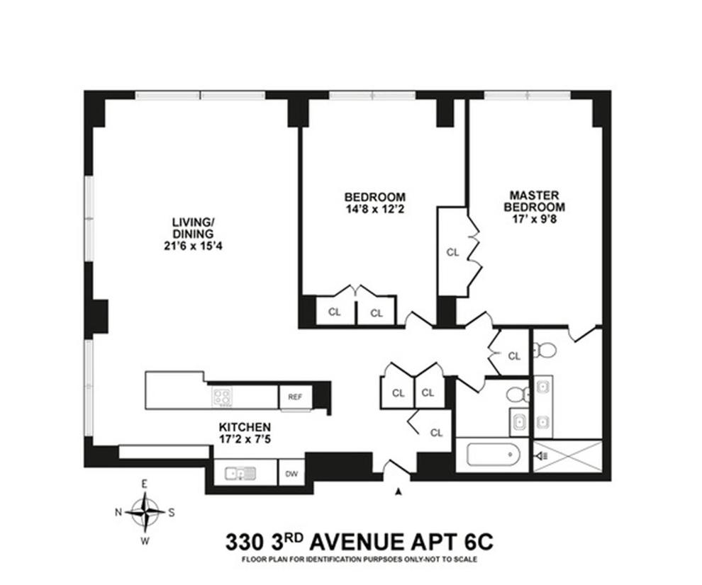 Unit 4C at 330 3rd Avenue, New York, NY 10010