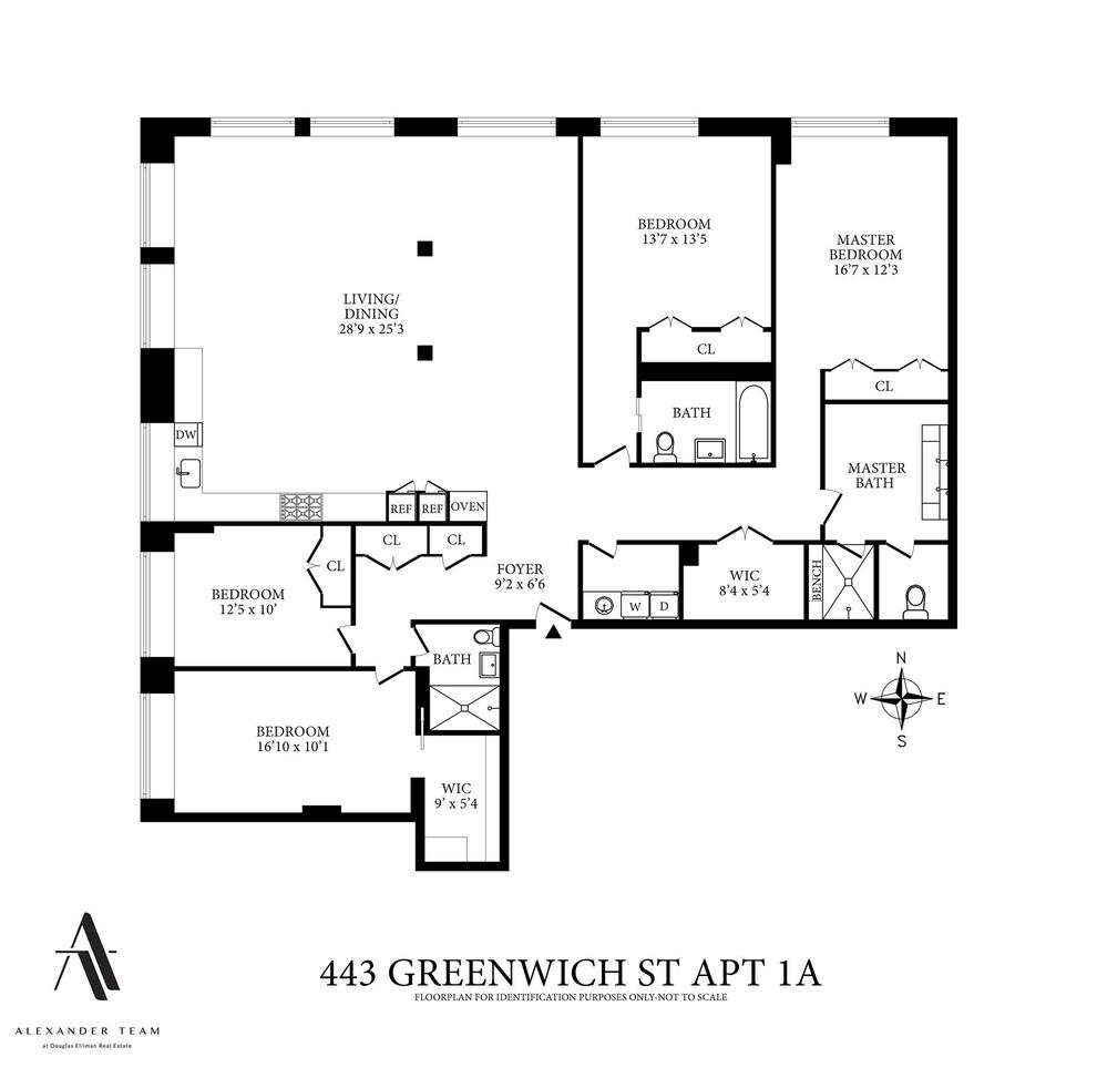 Unit 1A at 443 Greenwich Street, New York, NY 10013