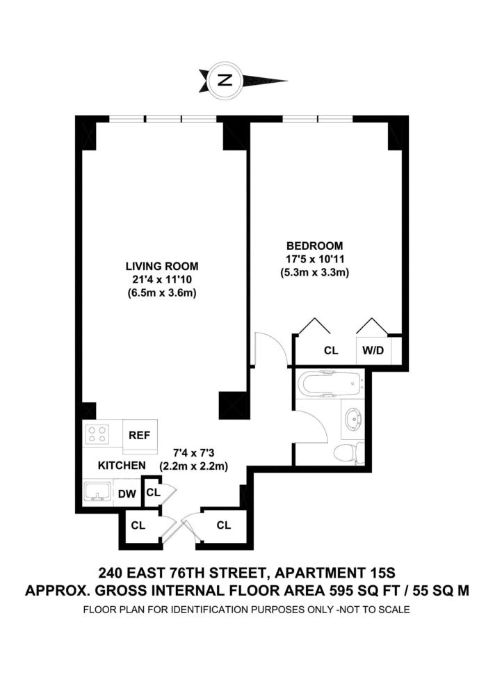 Unit 15S at 240 East 76th Street, New York, NY 10021