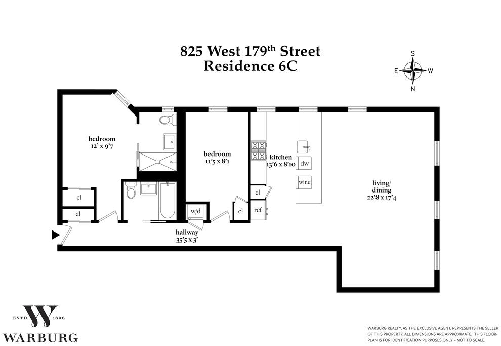 Unit 6C at 825 West 179th Street, New York, NY 10033