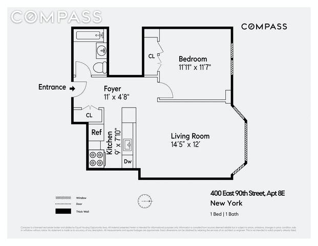 Unit 8E at 400 East 90th Street, New York, NY 10128