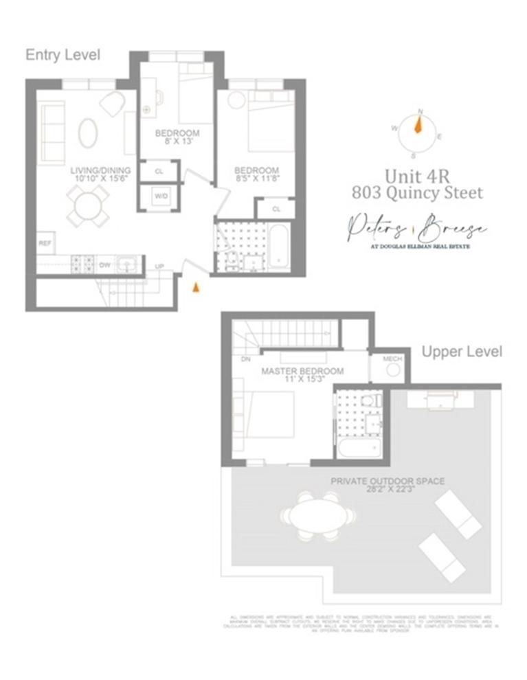 Unit 4R at 803 Quincy Street, Brooklyn, NY 11221