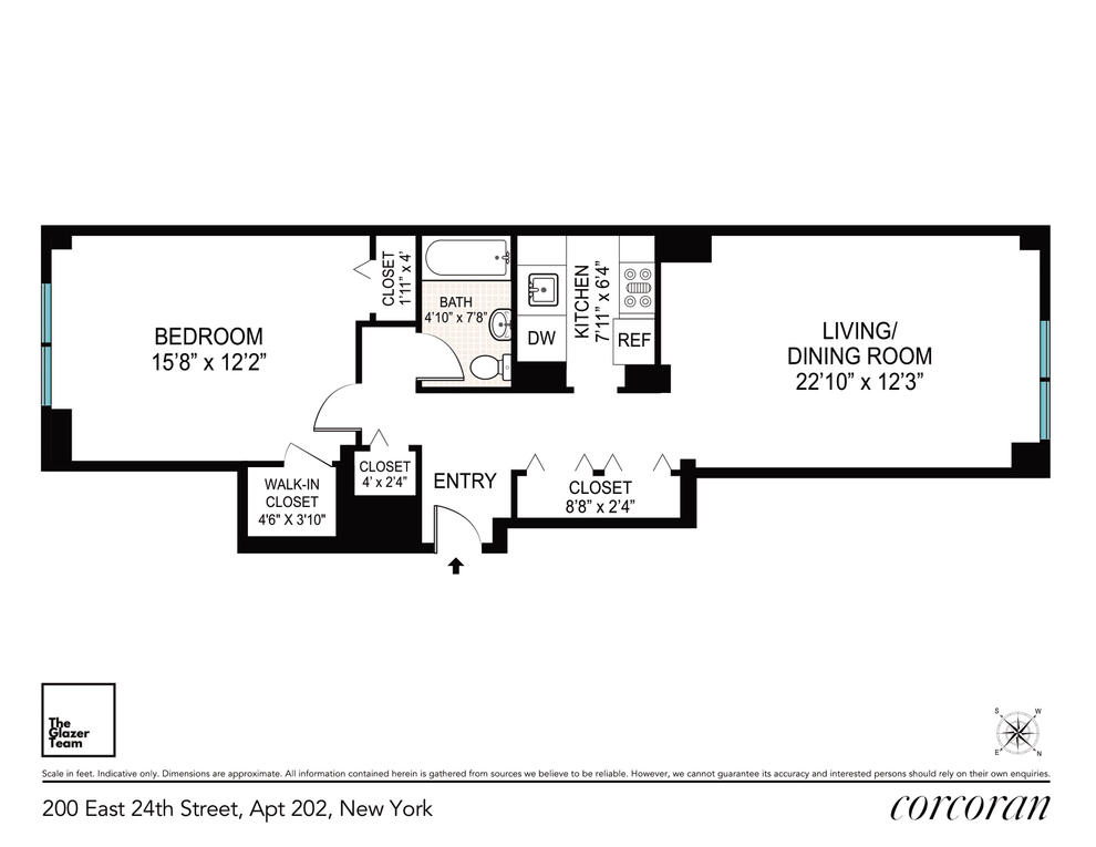 Unit 202 at 200 East 24th Street, New York, NY 10010