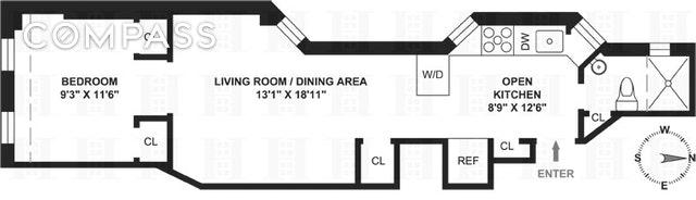 Unit 4W at 403 East 90th Street, New York, NY 10128