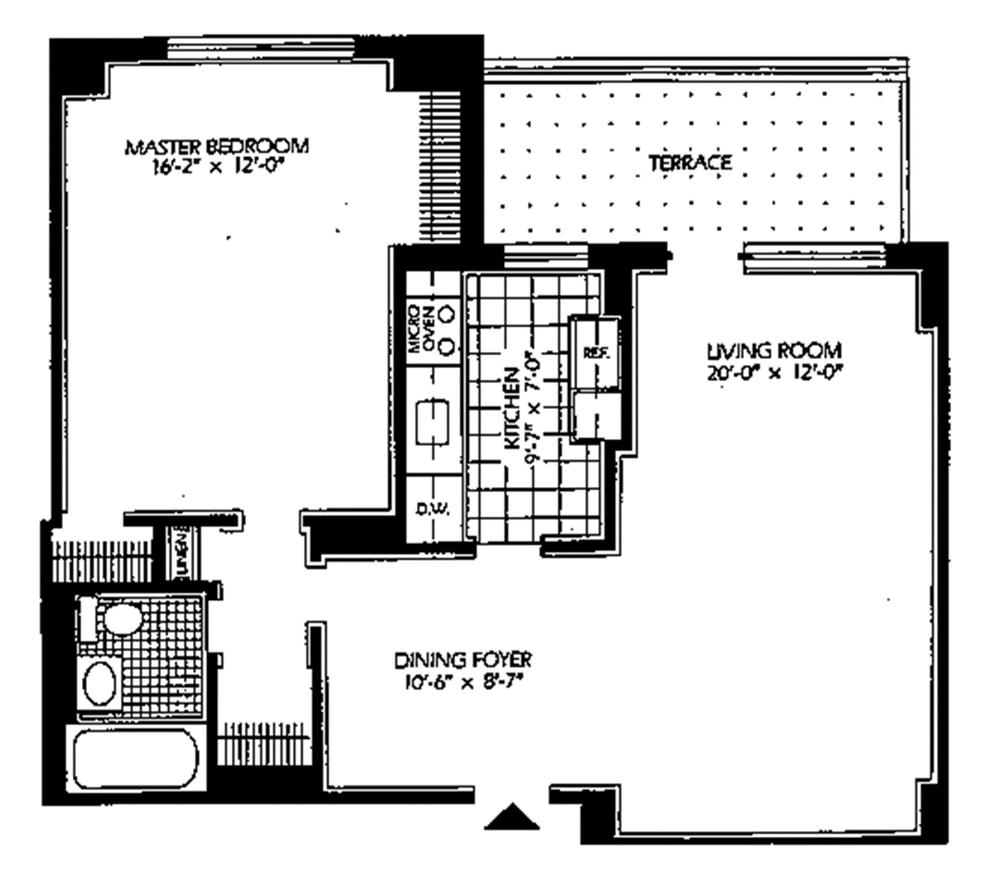 Unit 10D at 5700 Arlington Avenue, Bronx, NY 10471