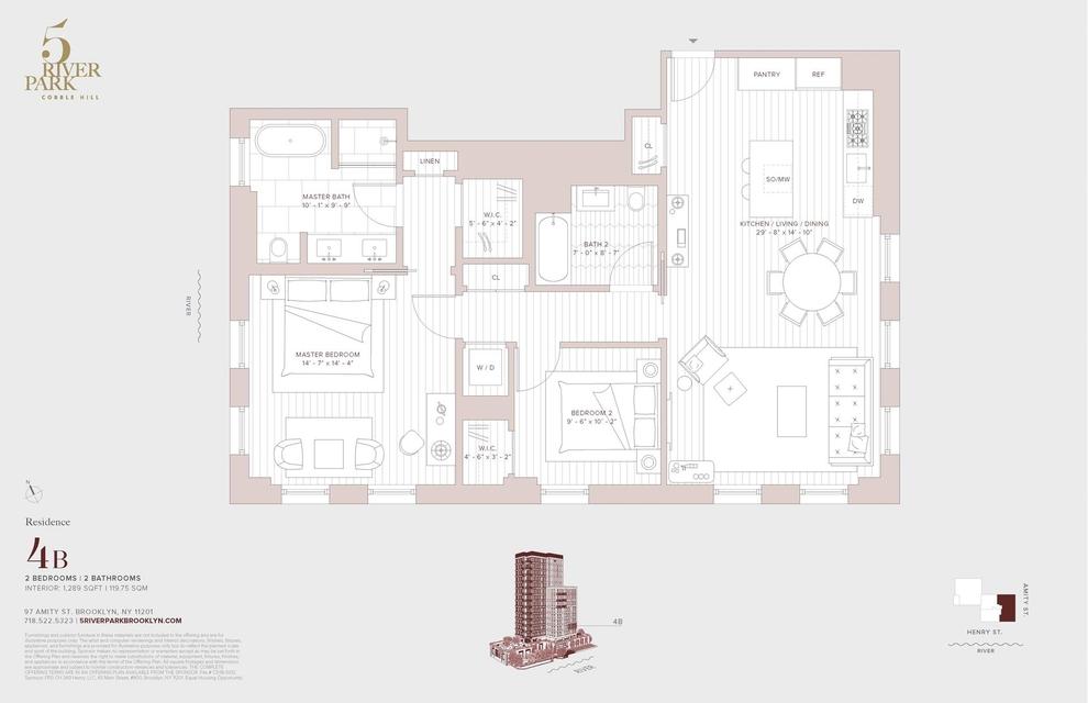 Unit 4B at 347 Henry Street, Brooklyn, NY 11201