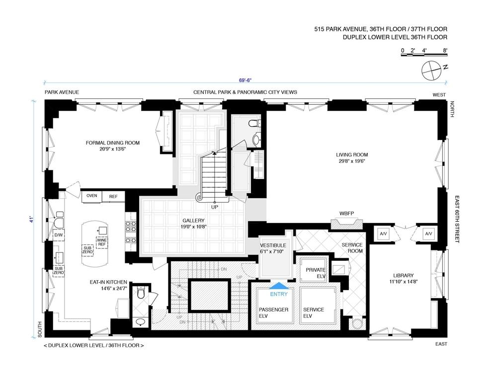 Unit 3637 at 515 Park Avenue, New York, NY 10022