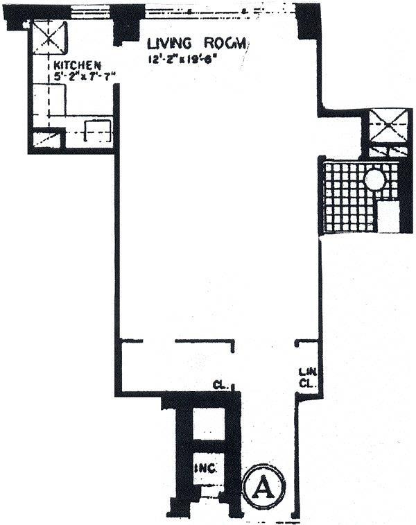 Unit 12A at 240 East 46th Street, New York, NY 10017