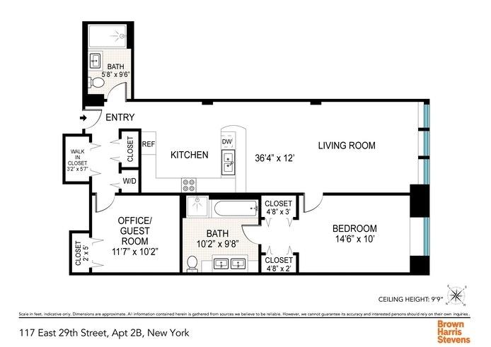 Unit 2B at 117 East 29th Street, New York, NY 10016