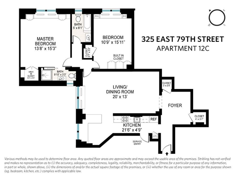 Unit 12C at 325 East 79th Street, New York, NY 10075