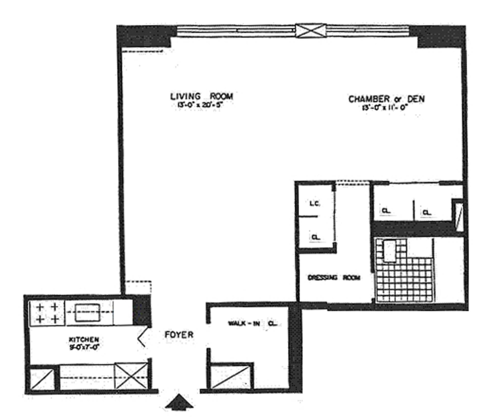 Unit 11L at 392 Central Park West, New York, NY 10025