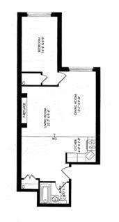 Unit 4B at 55 West 84th Street, New York, NY 10024