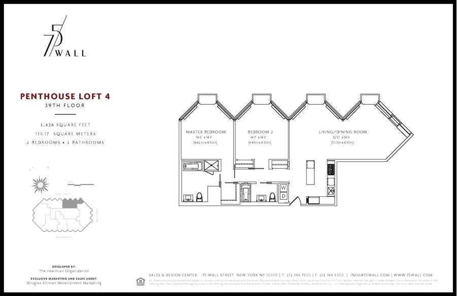 75 Wall Street #PHL4, New York, NY 10265: Sales, Floorplans