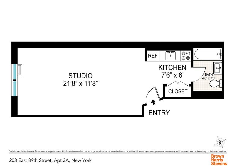 Unit 3A at 203 East 89th Street, New York, NY 10128