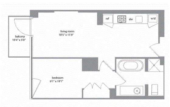 Unit 7A at 340 East 23rd Street, New York, NY 10010