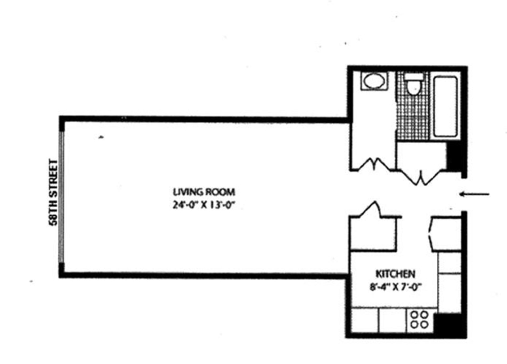 Unit 27F at 117 East 57th Street, New York, NY 10022