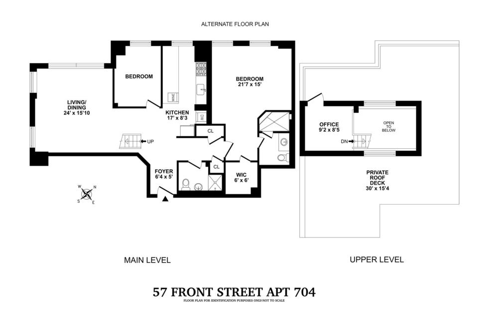 Unit 704 at 57 Front Street, Brooklyn, NY 11201