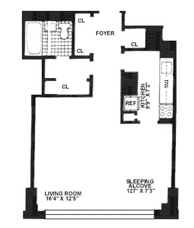 Unit 23G at 160 West End Avenue, New York, NY 10023