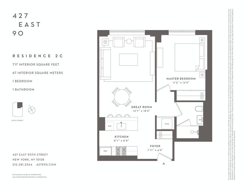 Unit 2C at 427 East 90th Street, New York, NY 10128