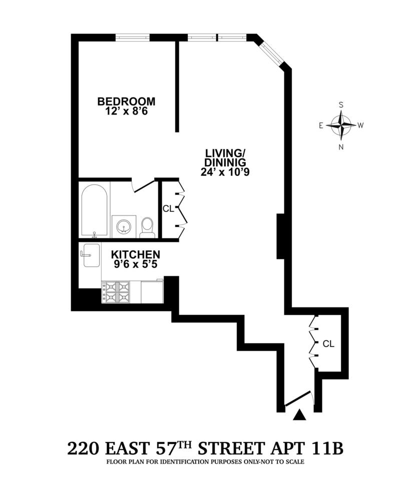 Unit 11B at 220 East 57th Street, New York, NY 10022