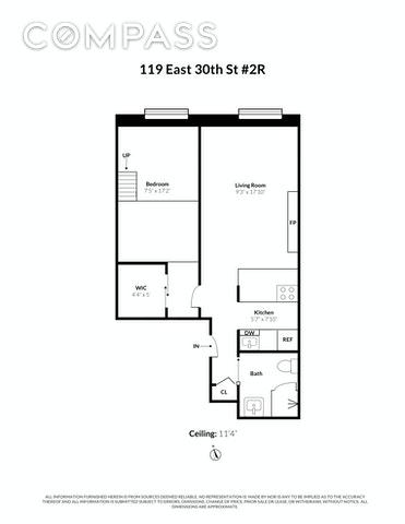 Unit 2R at 119 East 30th Street, New York, NY 10016