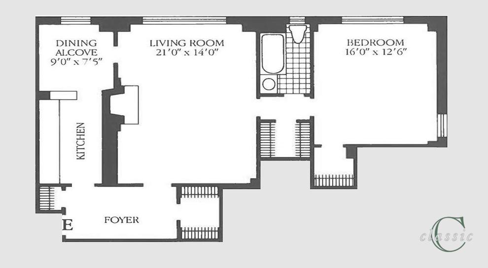 Unit 7E at 414 East 52nd Street, New York, NY 10022