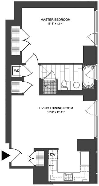 Unit 2105 at 247 West 46th Street, New York, NY 10036