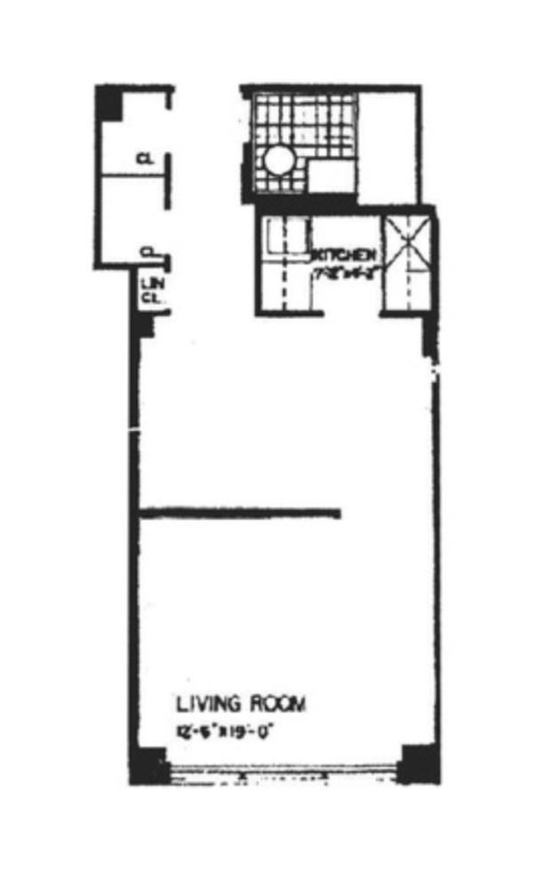 Unit 8E at 240 East 46th Street, New York, NY 10017