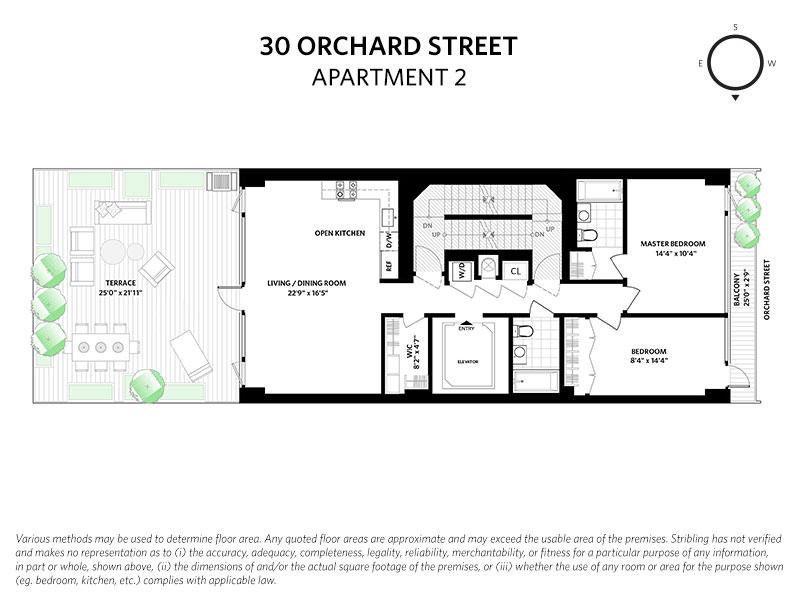 Unit 2 at 30 Orchard Street, New York, NY 10002