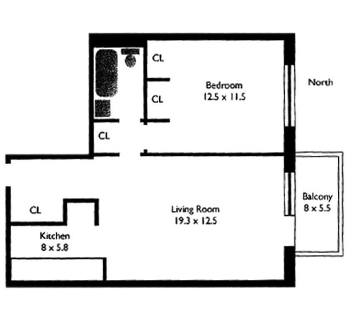 Unit 4H at 417 East 90th Street, New York, NY 10128