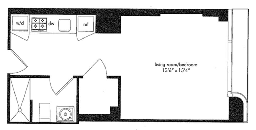 Unit 12J at 340 East 23rd Street, New York, NY 10010