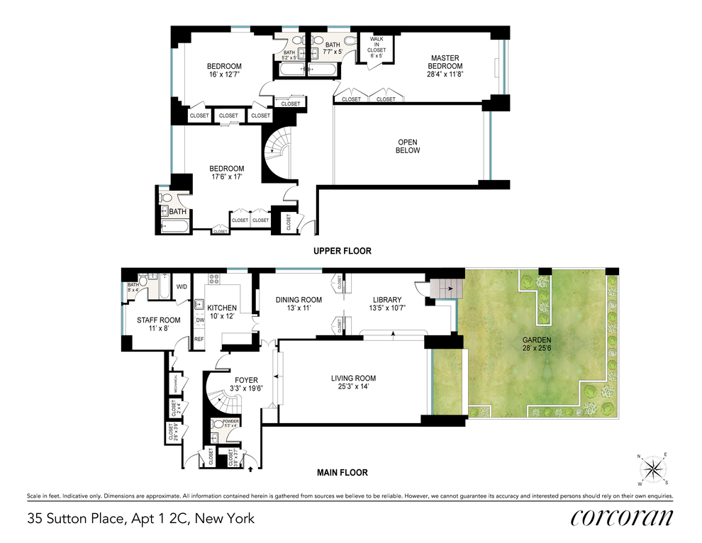 Unit 12C at 35 Sutton Place, New York, NY 10022