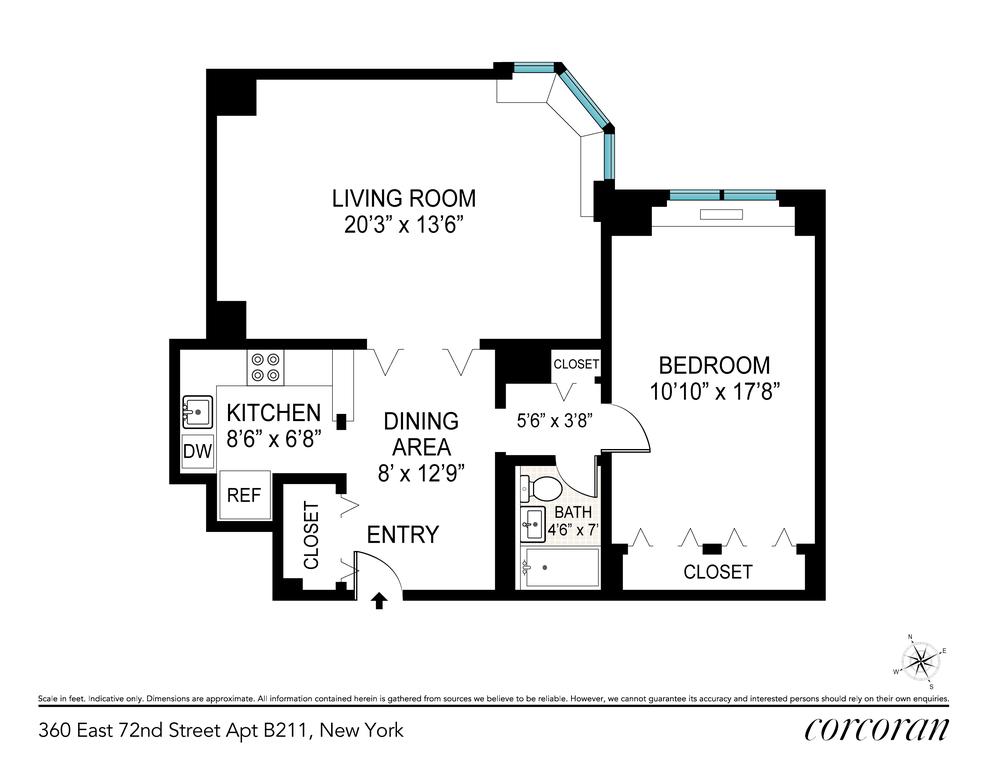 Unit B211 at 360 East 72nd Street, New York, NY 10021