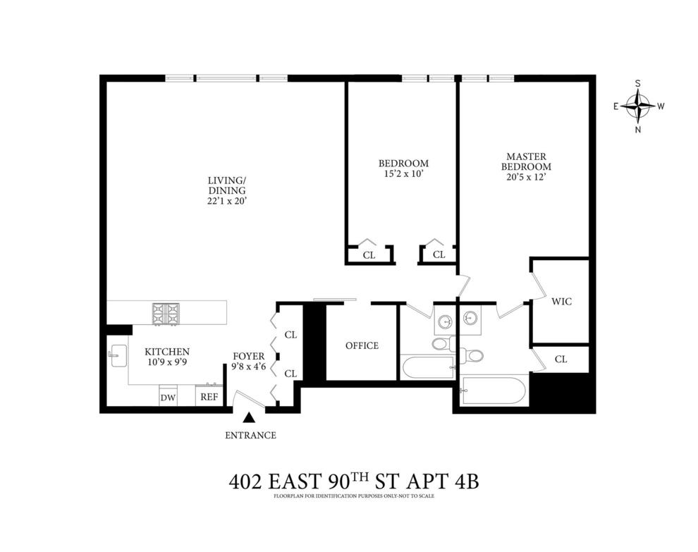 Unit 4B at 402 East 90th Street, New York, NY 10128