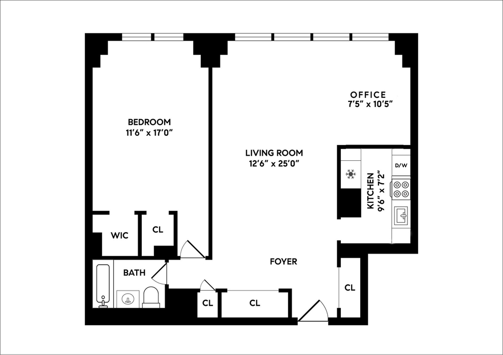 Unit 9H at 165 West End Avenue, New York, NY 10023