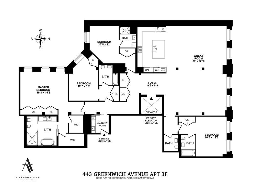 Unit 3F at 443 Greenwich Street, New York, NY 10013