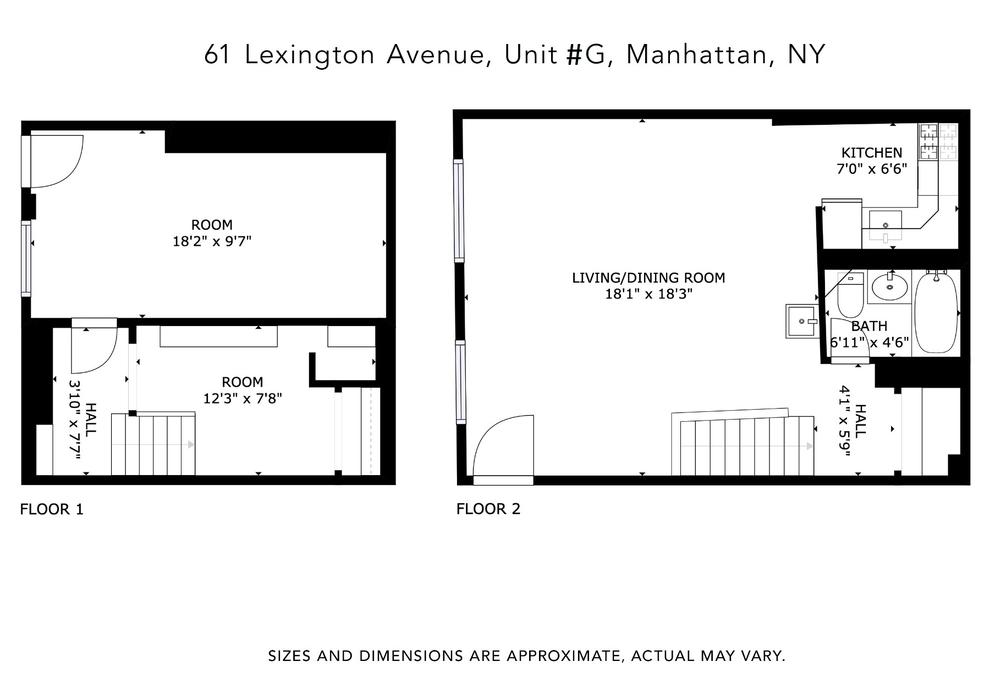 Unit G at 61 Lexington Avenue, New York, NY 10010