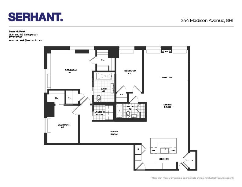 Unit 8HI at 244 Madison Avenue, New York, NY 10016