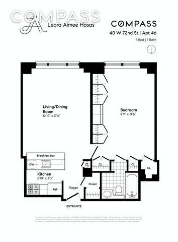 Unit 46 at 40 West 72nd Street, New York, NY 10023