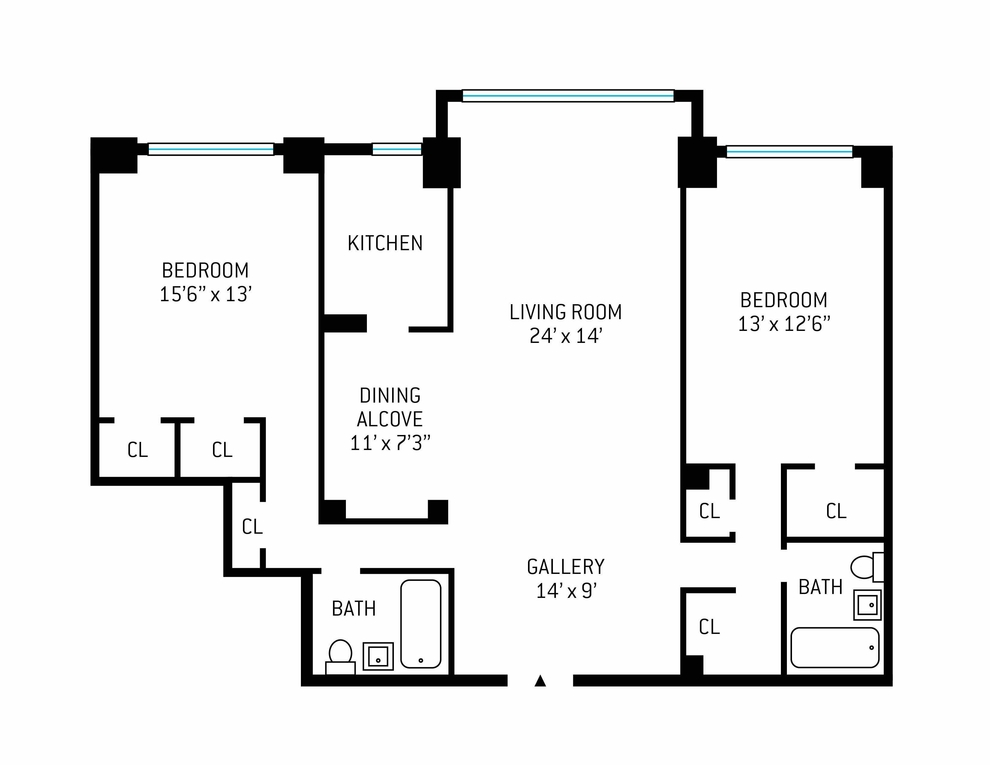 Unit 8C at 25 Sutton Place South, New York, NY 10022