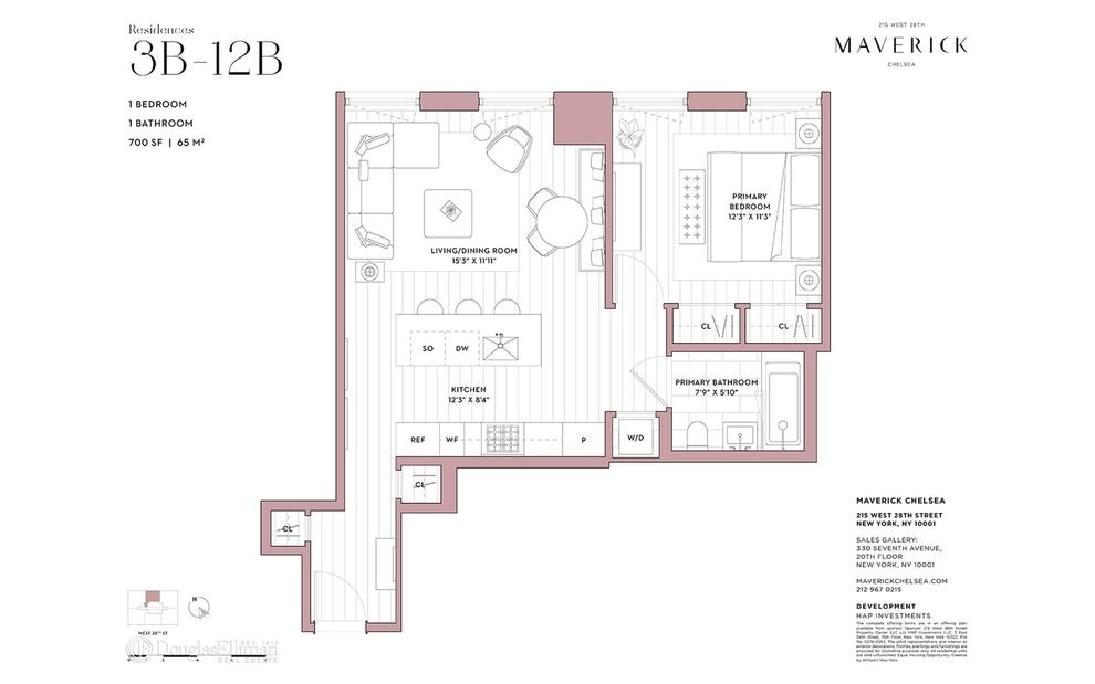 Unit 10B at 215 West 28th Street, New York, NY 10001