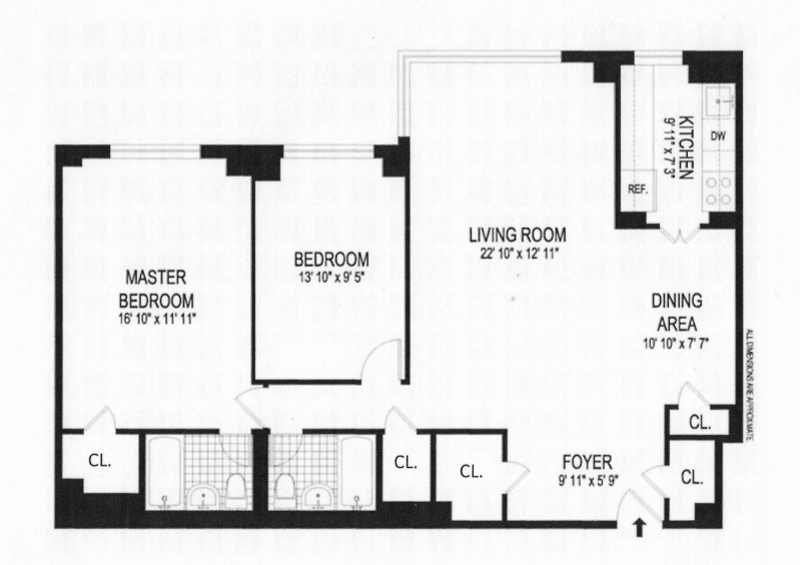 Unit 8F at 10 East End Avenue, New York, NY 10075