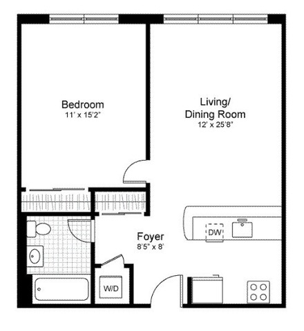 Unit N3H at 555 West 23rd Street, New York, NY 10011
