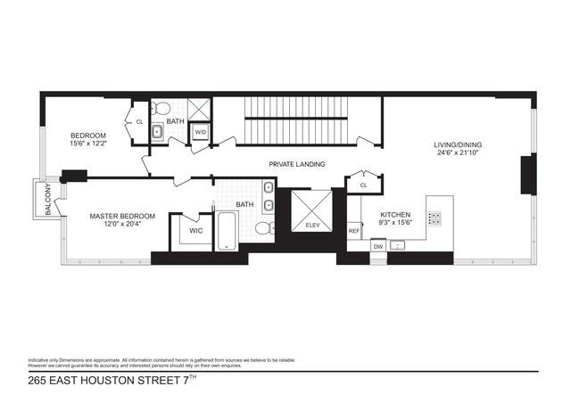 Unit 7 at 265 East Houston Street, New York, NY 10002