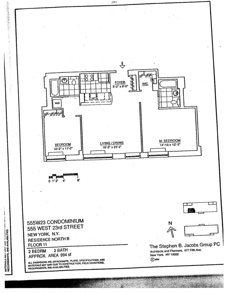 Unit N11B at 555 West 23rd Street, New York, NY 10011