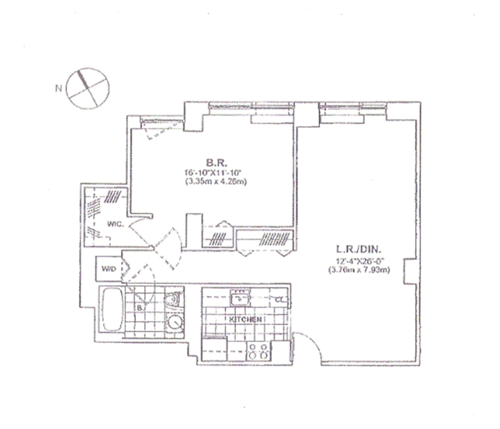Unit 34A at 215 East 96th Street, New York, NY 10128