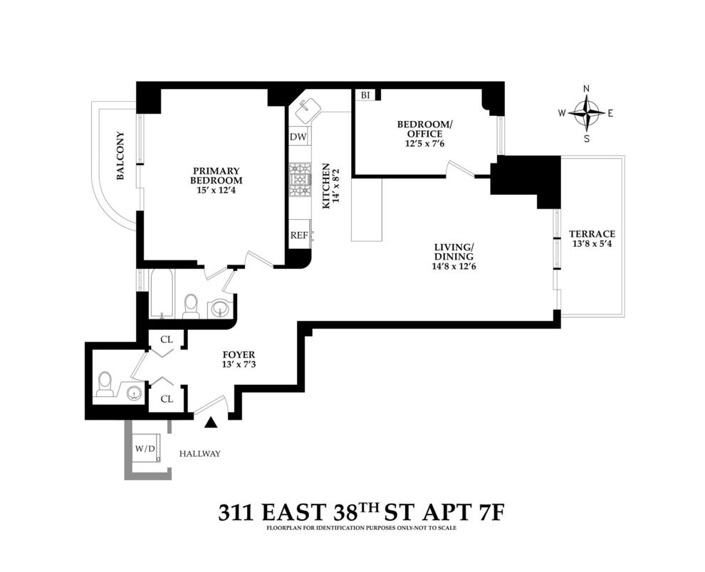 Unit 7F at 311 East 38th Street, New York, NY 10016